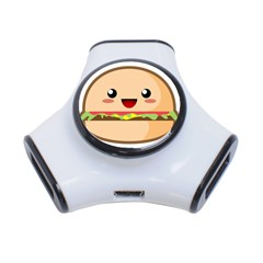 Kawaii Burger 3-Port USB Hub by KawaiiKawaii
