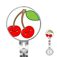 Kawaii Cherry Stainless Steel Nurses Watches by KawaiiKawaii