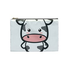 Kawaii Cow Cosmetic Bag (medium)  by KawaiiKawaii