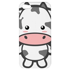 Kawaii Cow Apple iPhone 5 Hardshell Case by KawaiiKawaii