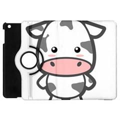 Kawaii Cow Apple Ipad Mini Flip 360 Case by KawaiiKawaii