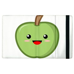Kawaii Green Apple Apple Ipad 3/4 Flip Case by KawaiiKawaii