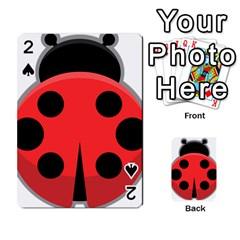 Kawaii Ladybug Playing Cards 54 Designs