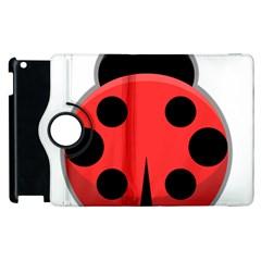 Kawaii Ladybug Apple Ipad 3/4 Flip 360 Case by KawaiiKawaii
