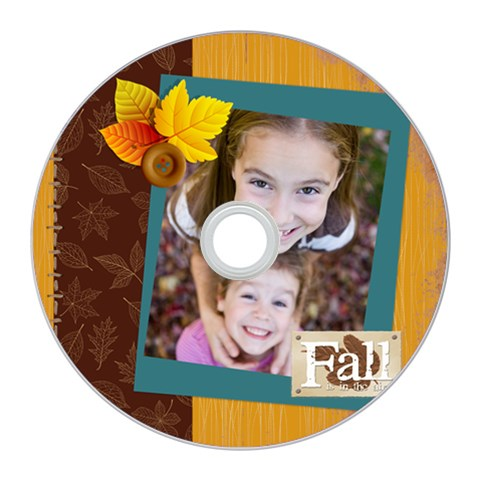 Fall By Thank You   Cd Wall Clock   E5tno8c576kj   Www Artscow Com Front