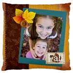 fall - Large Cushion Case (One Side)