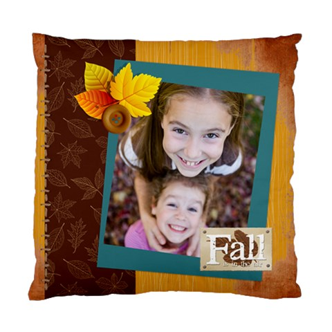 Fall By Thank You   Standard Cushion Case (one Side)   Eks6vdo2g61q   Www Artscow Com Front