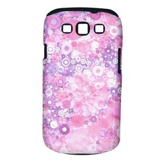 Lovely Allover Ring Shapes Flowers Pink Samsung Galaxy S Iii Classic Hardshell Case (pc+silicone) by MoreColorsinLife