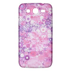 Lovely Allover Ring Shapes Flowers Pink Samsung Galaxy Mega 5 8 I9152 Hardshell Case  by MoreColorsinLife