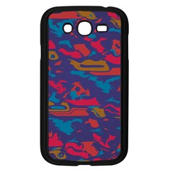 Chaos In Retro Colors Samsung Galaxy Grand Duos I9082 Case (black) by LalyLauraFLM