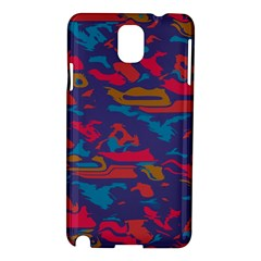 Chaos In Retro Colors Samsung Galaxy Note 3 N9005 Hardshell Case by LalyLauraFLM