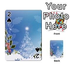 Christmas Tree Playing Cards 54 Designs  by FantasyWorld7