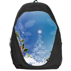 Christmas Tree Backpack Bag by FantasyWorld7
