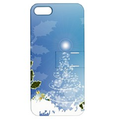 Christmas Tree Apple Iphone 5 Hardshell Case With Stand by FantasyWorld7