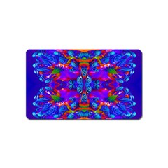Abstract 4 Magnet (name Card) by icarusismartdesigns