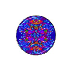 Abstract 4 Hat Clip Ball Marker by icarusismartdesigns