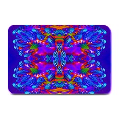 Abstract 4 Plate Mats by icarusismartdesigns