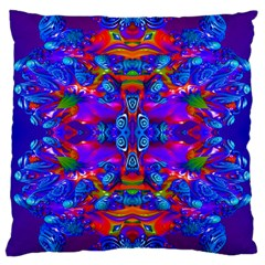 Abstract 4 Large Cushion Cases (two Sides)  by icarusismartdesigns