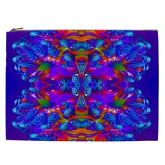 Abstract 4 Cosmetic Bag (xxl)  by icarusismartdesigns