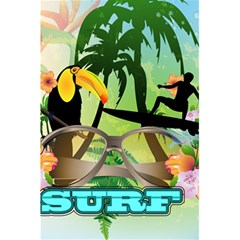 Surfing 5 5  X 8 5  Notebooks by FantasyWorld7