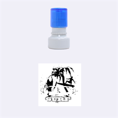 Surfing Rubber Round Stamps (small) by FantasyWorld7