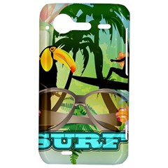 Surfing HTC Incredible S Hardshell Case  by FantasyWorld7