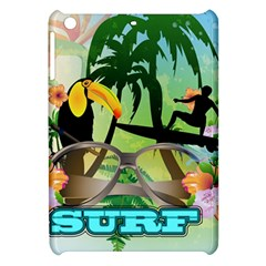 Surfing Apple Ipad Mini Hardshell Case by FantasyWorld7