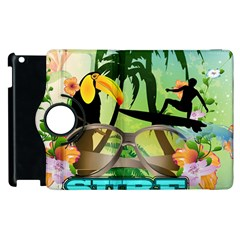 Surfing Apple Ipad 2 Flip 360 Case by FantasyWorld7