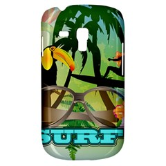 Surfing Samsung Galaxy S3 Mini I8190 Hardshell Case by FantasyWorld7