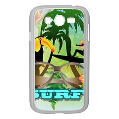 Surfing Samsung Galaxy Grand Duos I9082 Case (white) by FantasyWorld7