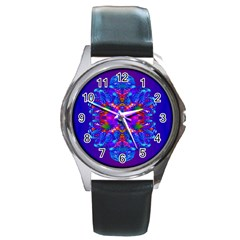 Abstract 5 Round Metal Watches by icarusismartdesigns