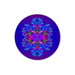 Abstract 5 Magnet 3  (round) by icarusismartdesigns