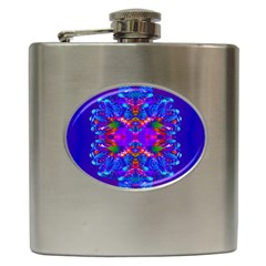 Abstract 5 Hip Flask (6 oz) by icarusismartdesigns