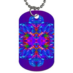 Abstract 5 Dog Tag (two Sides) by icarusismartdesigns