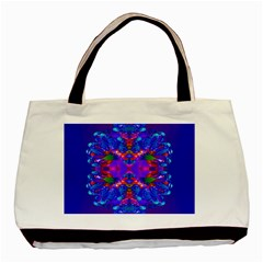 Abstract 5 Basic Tote Bag (two Sides)  by icarusismartdesigns