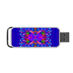 Abstract 5 Portable Usb Flash (one Side) by icarusismartdesigns