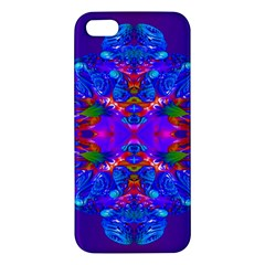 Abstract 5 Apple Iphone 5 Premium Hardshell Case by icarusismartdesigns