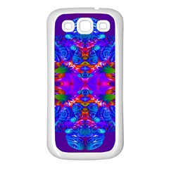 Abstract 5 Samsung Galaxy S3 Back Case (white) by icarusismartdesigns