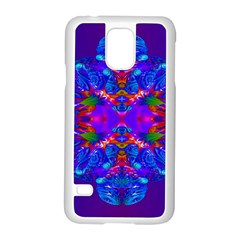Abstract 5 Samsung Galaxy S5 Case (white) by icarusismartdesigns