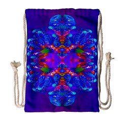 Abstract 5 Drawstring Bag (large) by icarusismartdesigns