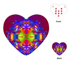 Abstract 6 Playing Cards (heart)  by icarusismartdesigns