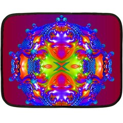 Abstract 6 Double Sided Fleece Blanket (mini)  by icarusismartdesigns