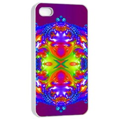 Abstract 6 Apple Iphone 4/4s Seamless Case (white) by icarusismartdesigns