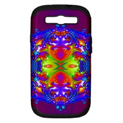 Abstract 6 Samsung Galaxy S Iii Hardshell Case (pc+silicone) by icarusismartdesigns