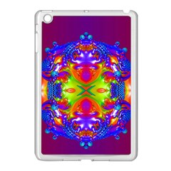 Abstract 6 Apple Ipad Mini Case (white) by icarusismartdesigns
