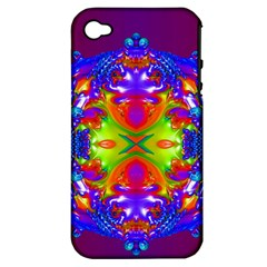 Abstract 6 Apple Iphone 4/4s Hardshell Case (pc+silicone) by icarusismartdesigns