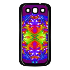 Abstract 6 Samsung Galaxy S3 Back Case (black) by icarusismartdesigns