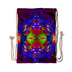 Abstract 6 Drawstring Bag (small) by icarusismartdesigns