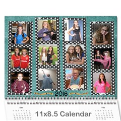 2016 Calendar By Julia Cover
