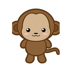 Kawaii Monkey 5 5  X 8 5  Notebooks by KawaiiKawaii
